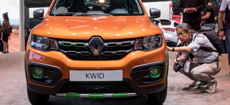 Η Renault ξεκινά τη διεθνή καριέρα του Kwid