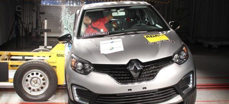 4 αστέρια για το Βραζιλιάνικο spec του Renault Captur στα Latin NCAP
