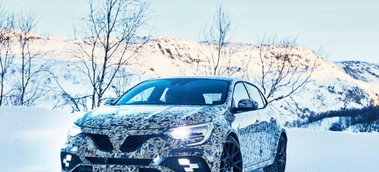 Το νέο Renault Megane RS σε χειμερινές δοκιμές