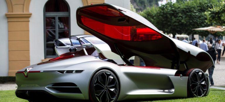 Το Renault TREZOR ψηφίστηκε το πιο όμορφο concept car στο Concorso d'Eleganza Villa d'Este