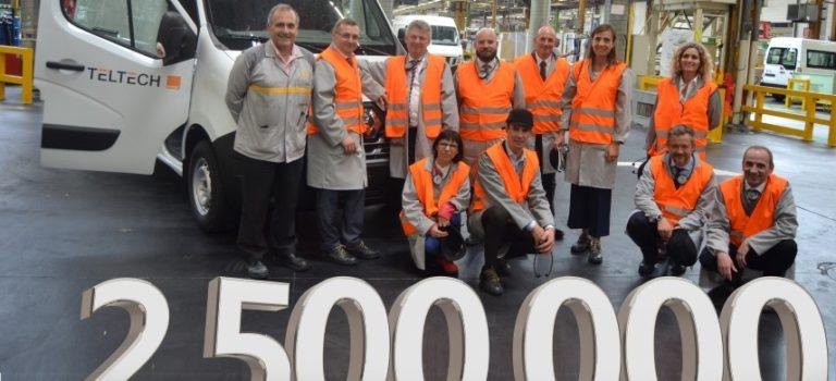 2,500,000 LCV για την Renault από το εργοστάσιο Batilly