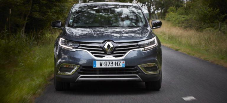 Η Renault λανσάρει μια ανανεωμένη έκδοση του Espace V 2017