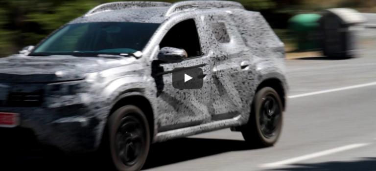 Το Dacia Duster δεύτερης γενιάς…στο δρόμο [Spy Video]