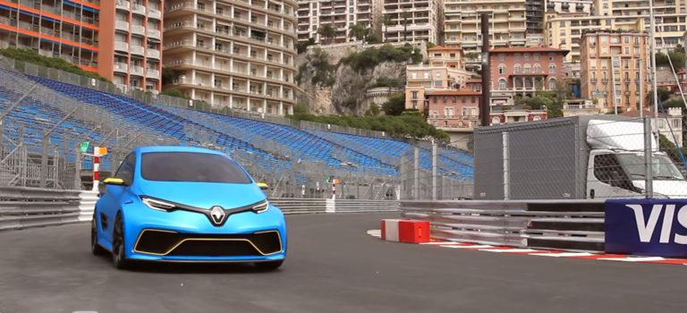 Renault ZOE e-Sport, Alain Prost, Μονακό – Όλα σε ένα βίντεο!