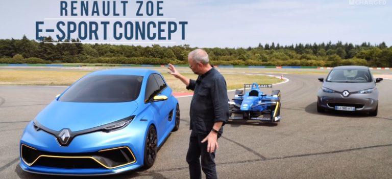 Το «θηρίο» Renault ZOE e-Sport στα χέρια του Full Charged (vid)