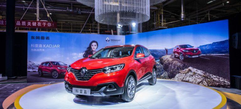 Τα Kadjar και Koleos οδηγούν τις πωλήσεις της Renault στην Κίνα