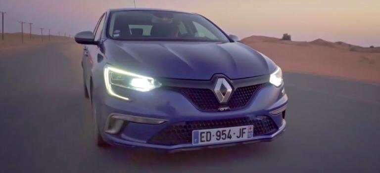 Δοκιμές θερμών καιρικών συνθηκών για το Renault Megane GT στη Μέση Ανατολή