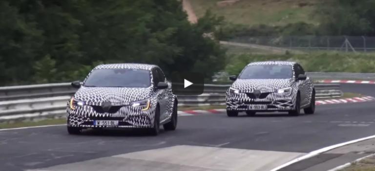 Το νέο Renault Megane RS απειλεί το ρεκόρ του Honda Civic Type R στο Nurburgring