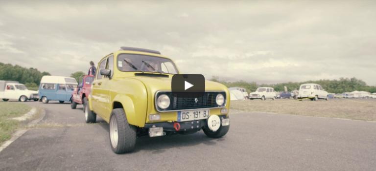 Η Renault Classic στην Διεθνή εκδήλωση 4L 2017 (vid)
