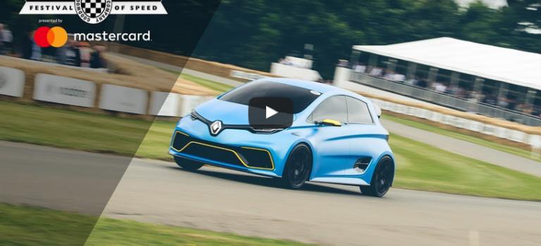 Goodwood Festival of Speed 2017 | Τα περάσματα των Renault από τον διάσημο λόφο [Videos]
