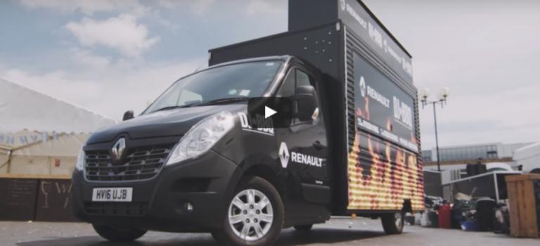 DJ BBQ & Renault ένωσαν τις δυνάμεις τους για την πιο τρελή κινητή καντίνα φαγητού (vid)