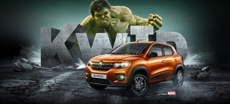Η Renault Βραζιλίας επιστρατεύει τον Απίθανο Hulk της Marvel για την προώθηση του Kwid