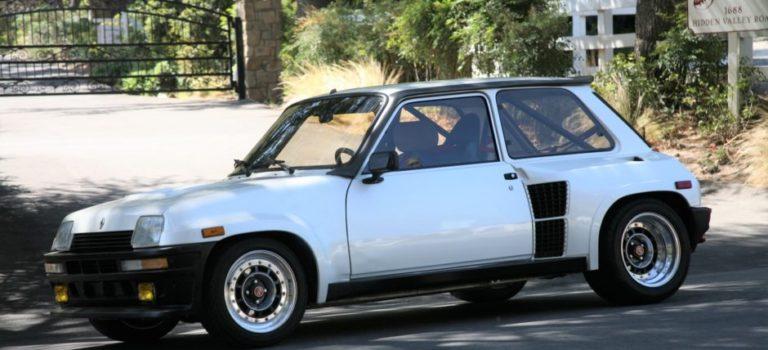 Ένα μοναδικό Renault 5 Turbo 2 προς πώληση στις Ηνωμένες Πολιτείες