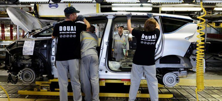 Το εργοστάσιο Douai της Renault θα μειώσει την παραγωγή του