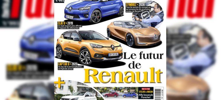 Renault Captur 2019 Rendering | Έρχεται το 2019 με επιρροές από το SymbioZ