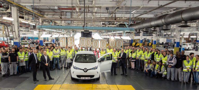 Γαλλία | 18 εκατ. οχήματα από το εργοστάσιο Flins της Renault