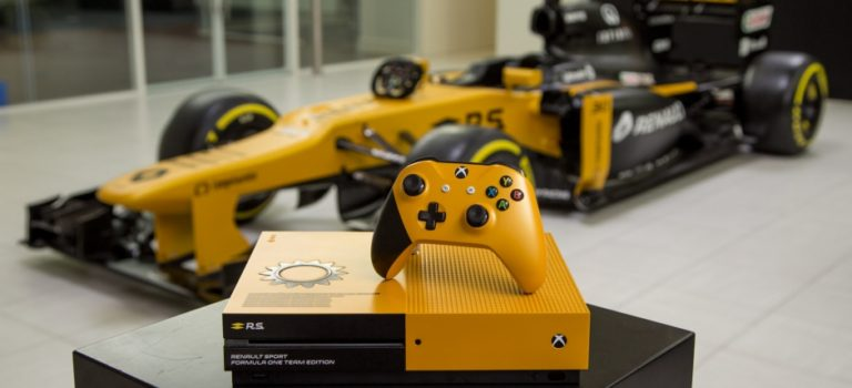 Xbox One S στα χρώματα της Renault Sport Formula one…και όχι μόνο!