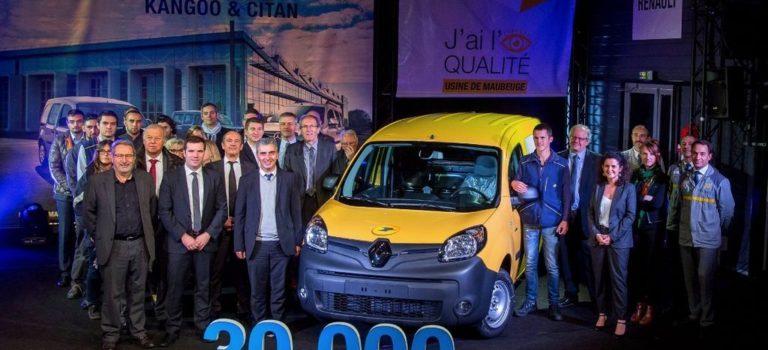 Γαλλία | 30.000 ηλεκτρικά Renault Kangoo από το εργοστάσιο Maubeuge
