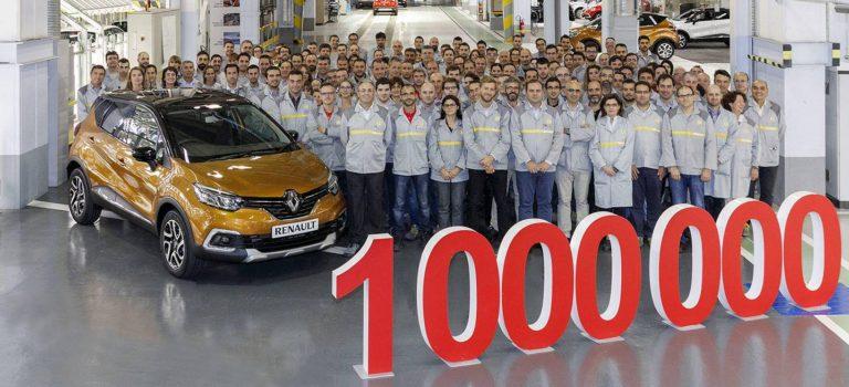Ισπανία | Ένα εκατομμύριο Renault Captur από τις γραμμές παραγωγής του εργοστάσιου Βαγιαδολίδ σε μόλις τέσσερα χρόνια