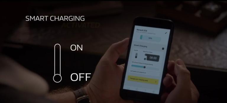 Έξυπνη φόρτιση του ηλεκτρικού οχήματος σας μεσώ της εφαρμογής Renault Z.E. Smart Charge (vid)