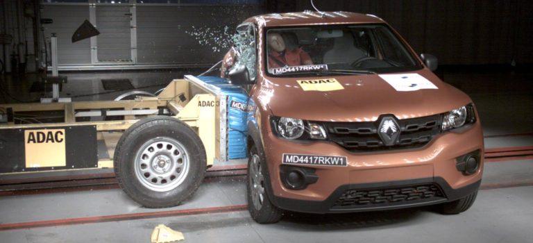 3 αστέρια στις δόκιμες πρόσκρουσης Latin NCAP για το βραζιλιάνικο Renault Kwid (vid)