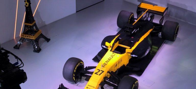 Η Renault Sport Formula One Team και η LEGO συνδυάζουν τις δυνάμεις τους στο L'Atelier Renault (vid)