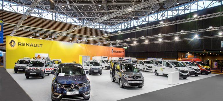 Η Renault θα παρουσιάσει την τεχνογνωσία μετατροπής των οχημάτων της στην έκθεση Solutrans 2017