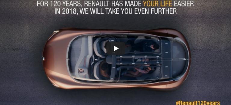 Η Renault μας εύχεται ευτυχισμένο το νέο έτος 2018! (vid)