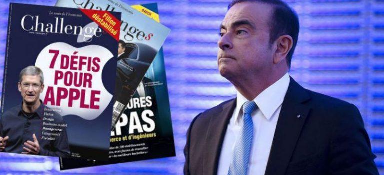 Η Renault γίνεται μέτοχος του γαλλικού περιοδικού Challenges