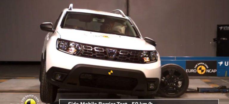 3 αστέρια στις δοκιμές πρόσκρουσης του EuroNCAP για το νέο Dacia Duster 2018