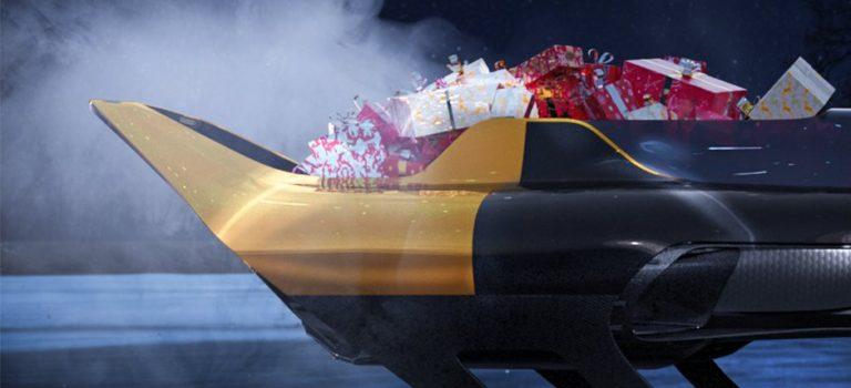 To έλκηθρο της Renault Sport για τον Αϊ-Βασίλη! (vid)