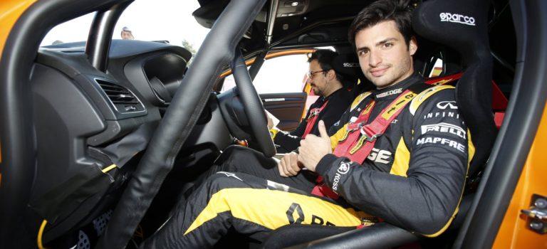Ο Carlos Sainz έκανε το ντεμπούτο του στο Rallye Monte-Carlo 2018 (pics)