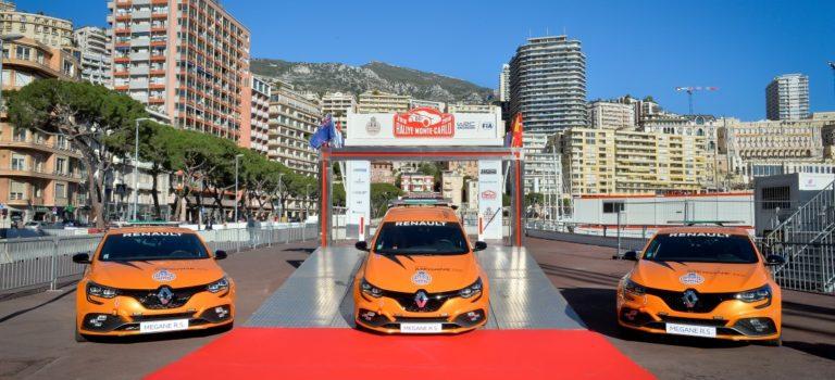 Στις υπηρεσίες του Automobile Club de Monaco τέσσερα νέα Renault Sport Mégane R.S. (pics)