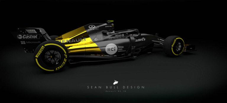F1 | Renault RS18 [Rendering]