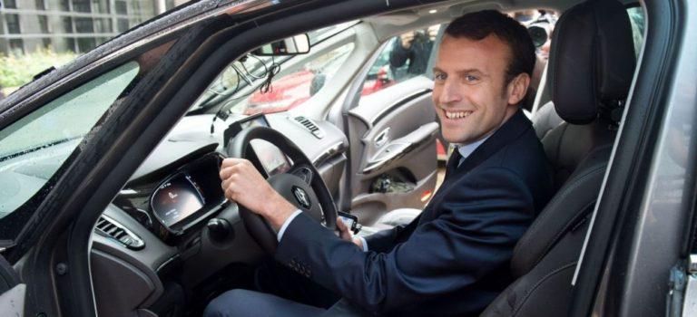Ο Macron θέλει να διατηρηθεί η ισορροπία στη Συμμαχία Renault-Nissan
