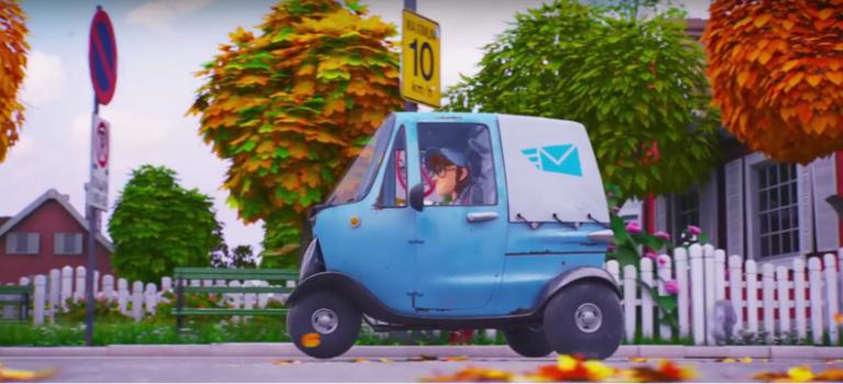Για την ημέρα του Αγίου Βαλεντίνου η Renault μας παρουσιάζει μια ιστορία ενός ταχυδρόμου (vid)