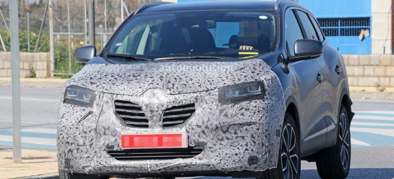 Η Renault προετοιμάζει την ανανεωμένη έκδοση του Kadjar (spy pics)