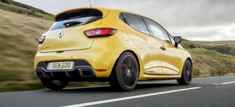 Το μελλοντικό Renault Clio RS  5 με κινητήρα 1.8 turbo