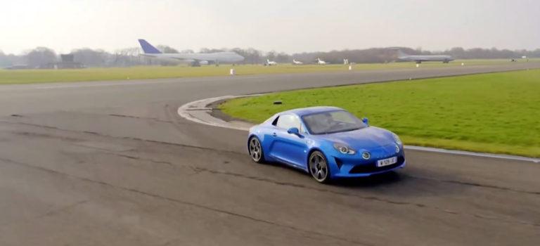 Που σταμάτησε τα χρονόμετρα το νέο Alpine A110 στα χέρια του Stig; (vid)
