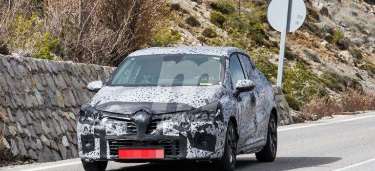 Νέες κατασκοπευτικες φωτογραφίες της 5ης γενιάς Renault Clio