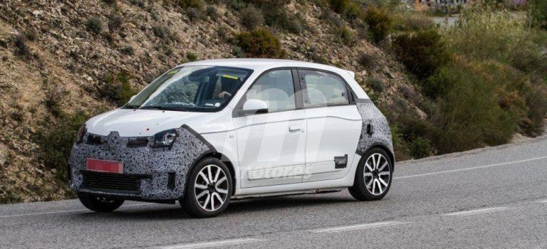 Η Renault προετοιμάζει την facelift έκδοση του Twingo (spy pics)