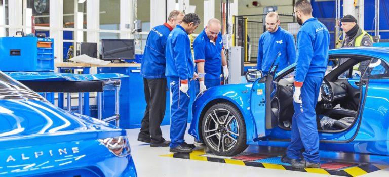 Alpine A110 (2018): Η παραγωγή ξεπέρασε τις 1.000 μονάδες!