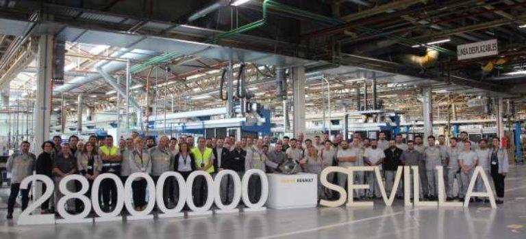 Το εργοστάσιο της Renault στην Σεβίλλη, έφτασε τα 28 εκατ. κιβώτια ταχυτήτων μετά από 60 χρόνια παραγωγής