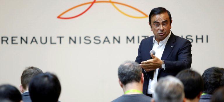 Ο Ghosn δεν αναμένει συγχώνευση της Renault-Nissan το 2018 ή το 2019