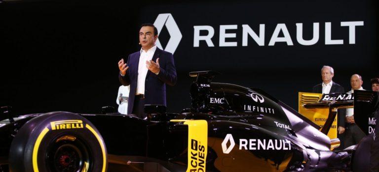 F1 | Ghosn: Θα φτάσουμε στην κορυφή, χωρίς το μεγαλύτερο μπάτζετ