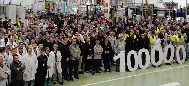 Η Renault έφτασε το ορόσημο των 100.000 ηλεκτροκινητήρων