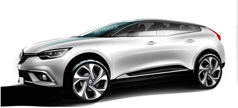 Πρώτες φωτογραφίες του νέου Coupe/Crossover της Renault (spy pics)
