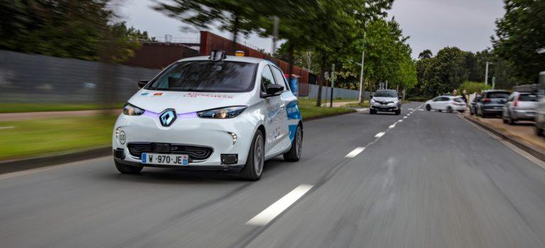 Αυτόνομα Renault ZOE σε νέο είδος υπηρεσίας μεταφοράς κατόπιν ζήτησης