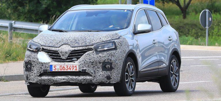 Δοκιμών συνέχεια για την facelift έκδοση του Renault Kadjar (spy pics)