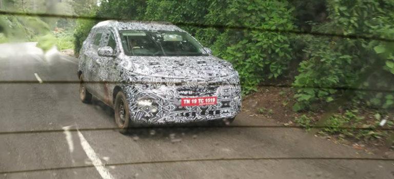 Το νέο MPV της Renault σε δοκιμές στην Ινδία (spy pics)